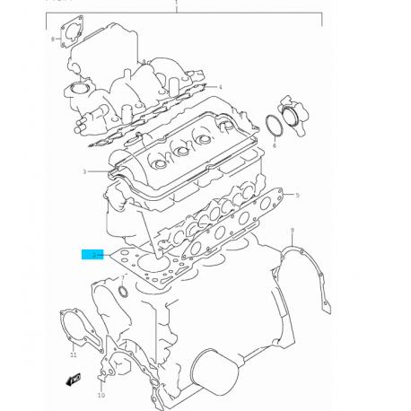 2000 Suzuki Grand Vitara Fuse Box