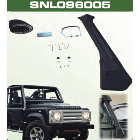 Snorkel Land Rover Defender TD5 y TD4 modelo con barras exteriores